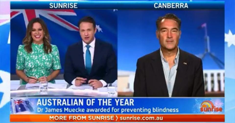 Dr James Meucke Australian Of The Year 2020