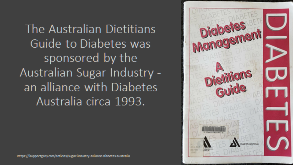 Diabetes Guide Daa With Sugar Industry
