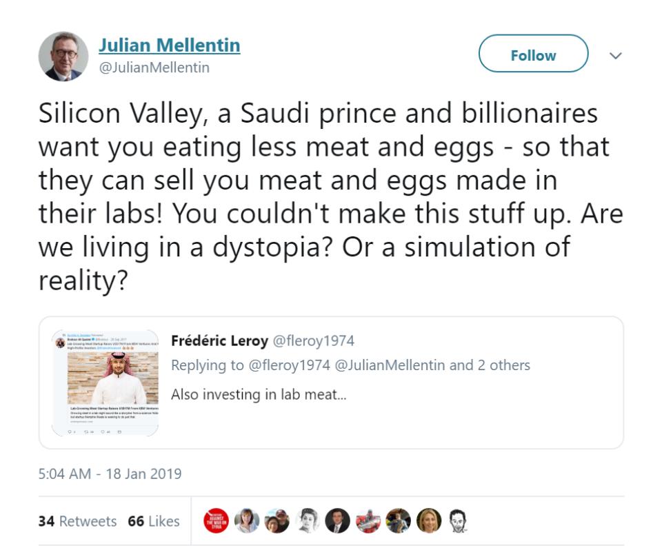 Tweet Juian Mellentin
