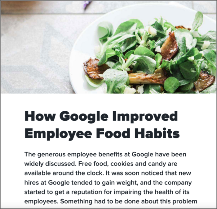 Google And Food