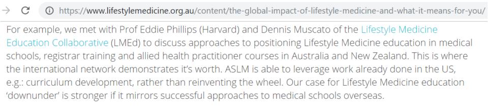 Lmed Aslm Med Curriculum In Aus