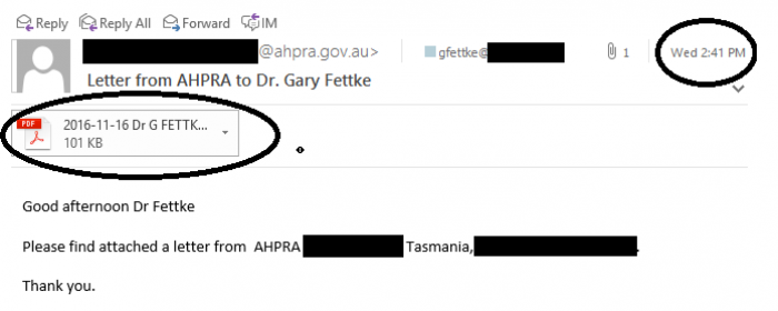 Ahpra 2 41 Email Nothing2Hide