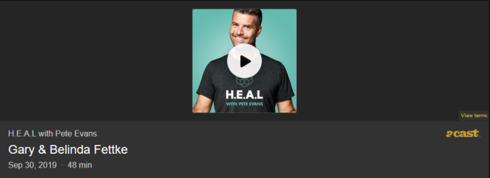 Pete Evans Heal